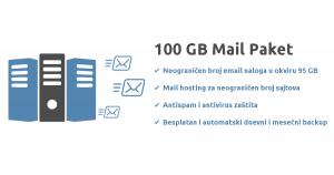 100GB Mail Paket