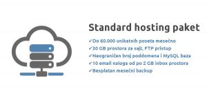 standard hosting paket